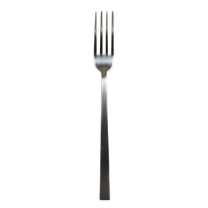 Silver Lg Fork With Square Edge Handle