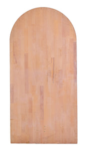 M Rounded Butcher Block, Warm Tone