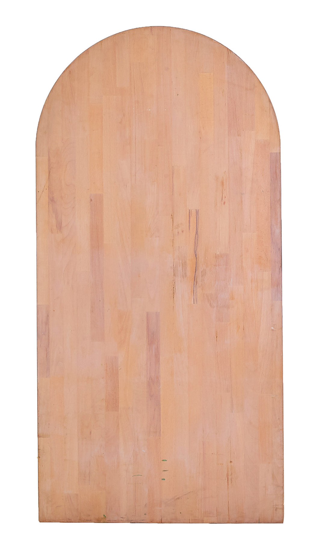 Md Rounded Butcher Block, Warm Tone