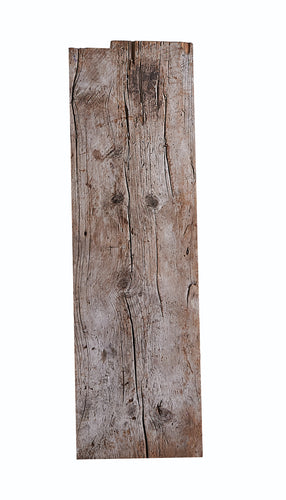 Lg Narrow Grey Weathered Wood