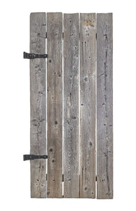 Md Natural Grey Slatted Gate