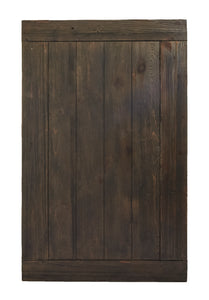 Md Dark Stained Slatted Tabletop