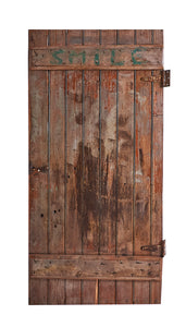 Lg Worn Natural Door