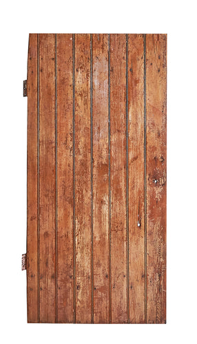 L Worn Natural Door