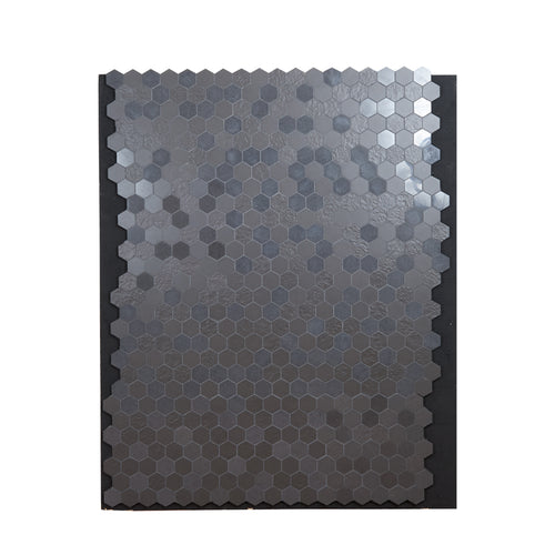 Lg Black Tiled Surface