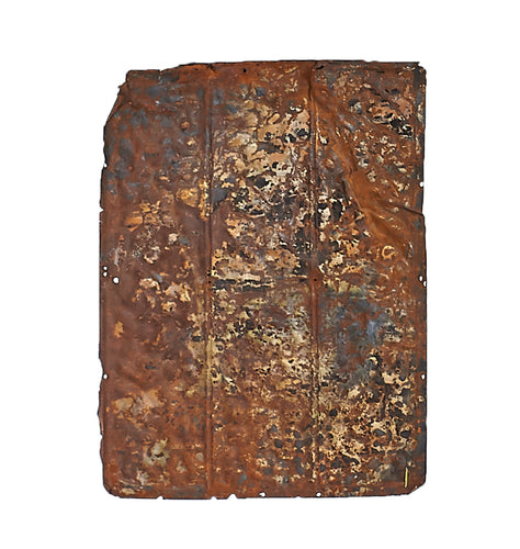 Sm Rusted Metal Ceiling Tile