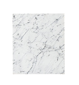 M Square White, Black Veined Marble