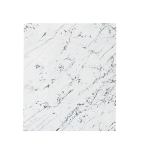 Md Square White, Black Veined Marble