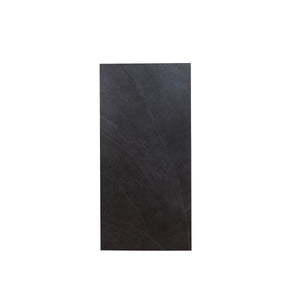 Lg Black Slated Tile