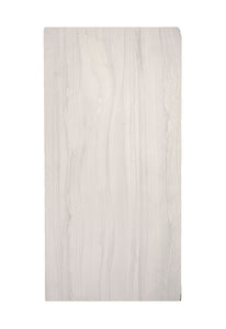 Lg White Marble Tile, Vertical Grey Veins