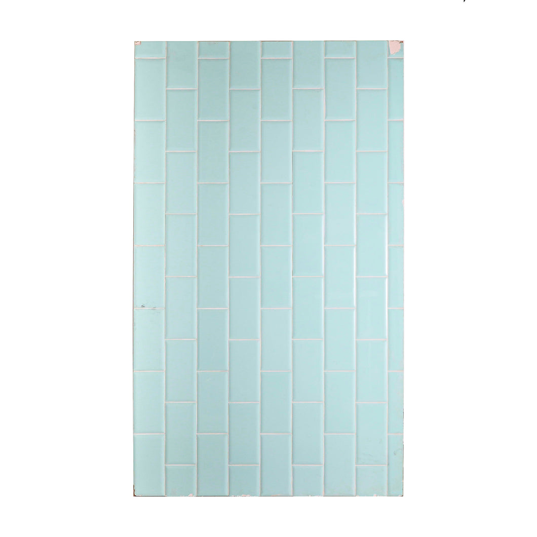 Lg Light Green Tiled Panel
