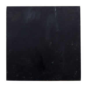 Sm Black Painted Square Slate