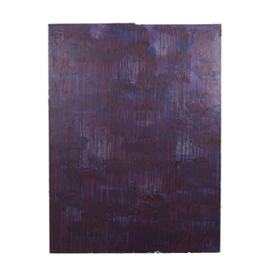 Md Dark Purple Plaster With Dripping Design And Texture