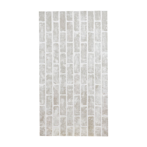Sm Grey Faux Brick Masonite Sheet