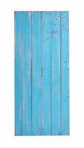 L Blue Painted Gate, Worn