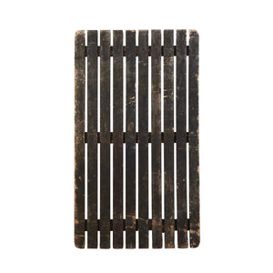 Md Dark Brown Slatted Board