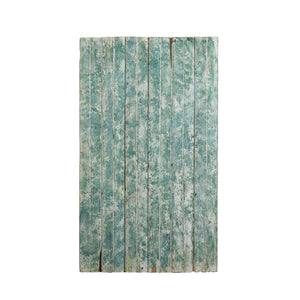 Md Green And White Textured Painted Wood