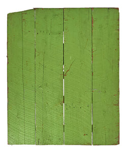 Md Light Green Painted Rough Wood