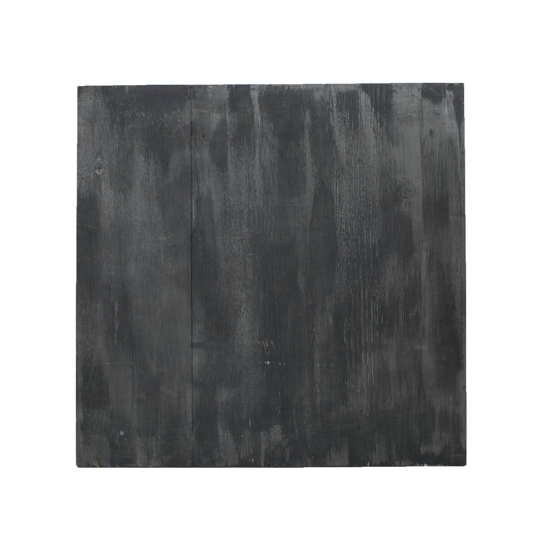 M Charcoal, Metallic Painted Wood