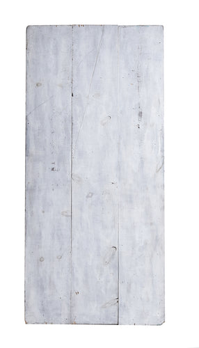 Lg Grey And White Panelled Wood