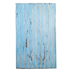 Md Blue And White Painted Board