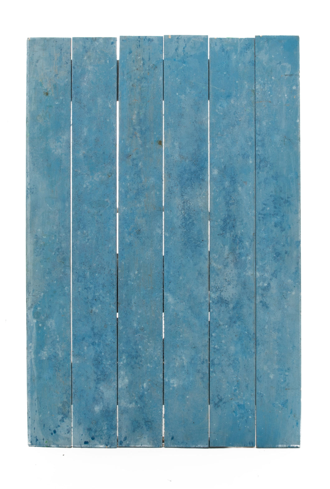 Md Light Blue Slatted Salted Boards