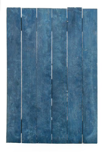 Blue Slatted Salted Boards