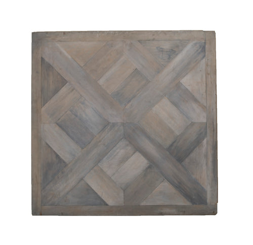 Grey Stained Wooden Floor Panel