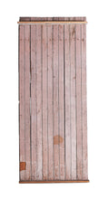 XL Slatted Double Sided Wood, Light Green/Peach