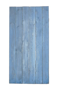 L Blue Stained Cedar Planks