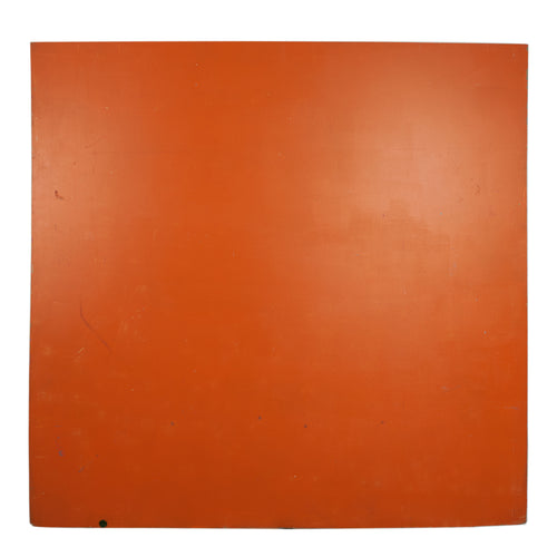 Lg Double-Sided Orange And Peach Painted Board