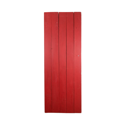 Lg Bright Red Door