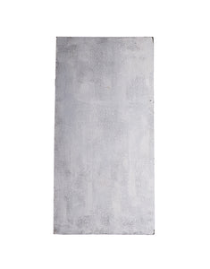 XL Mottled Grey Faux Stucco