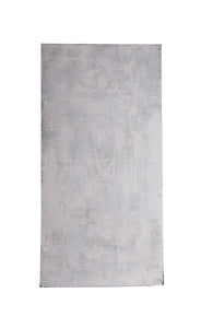 XL Mottled Light Grey Faux Stucco