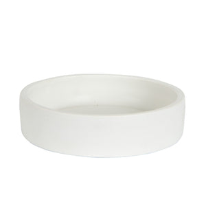 Md White Matte Bowl