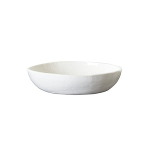 Md White Bowl With 1/4 Matte