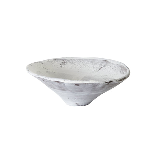 Md White Washed Bowl