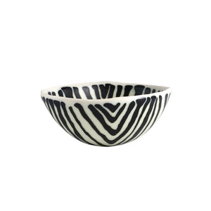 Sm Black And White Bowl