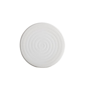White Ceramic Coaster