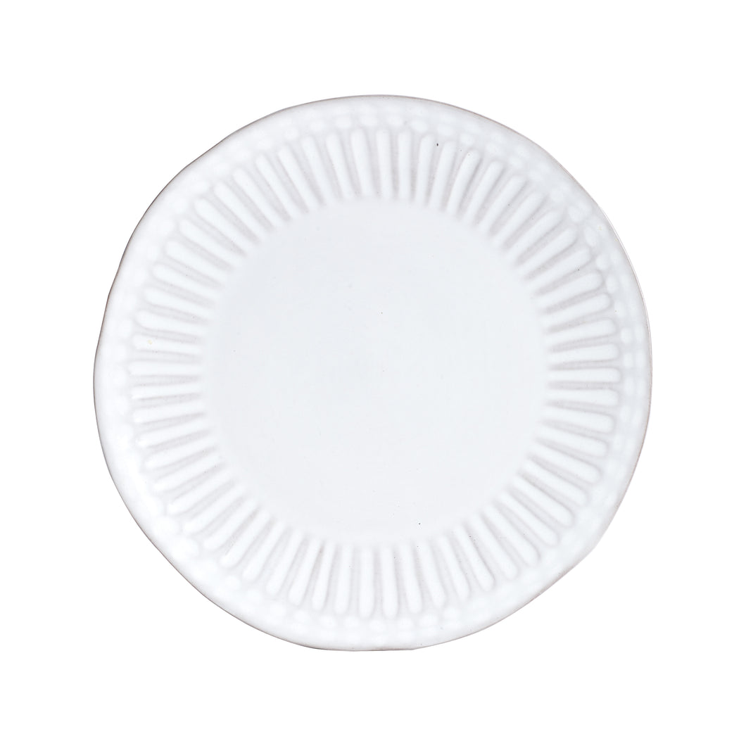 Lg White Plate With Texture