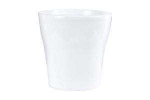 Md White Flower Pot