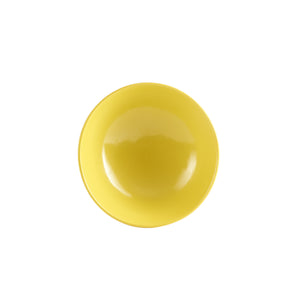Sm Lemon Yellow Footed Bowl