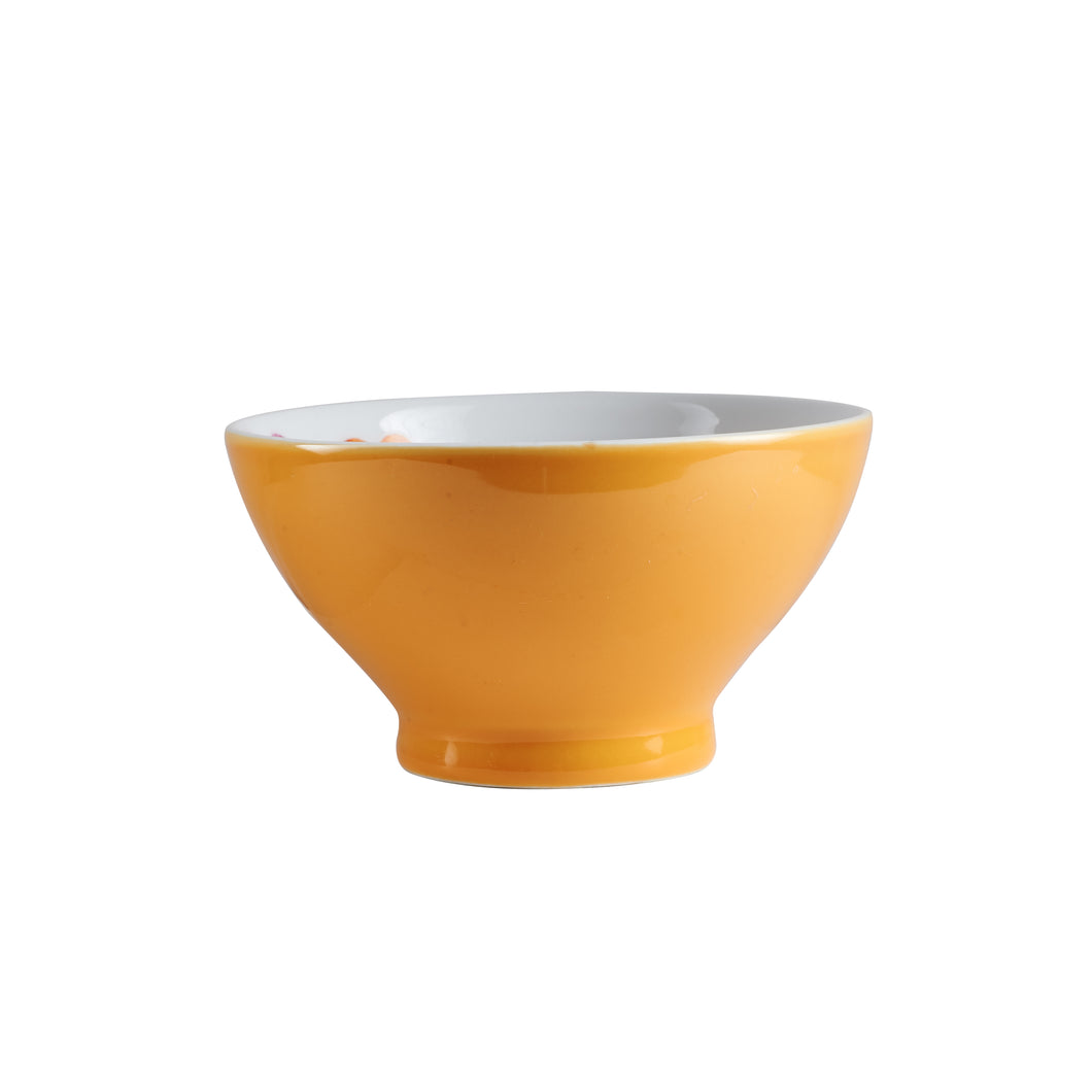 Md Honey Yellow Footed Bowl