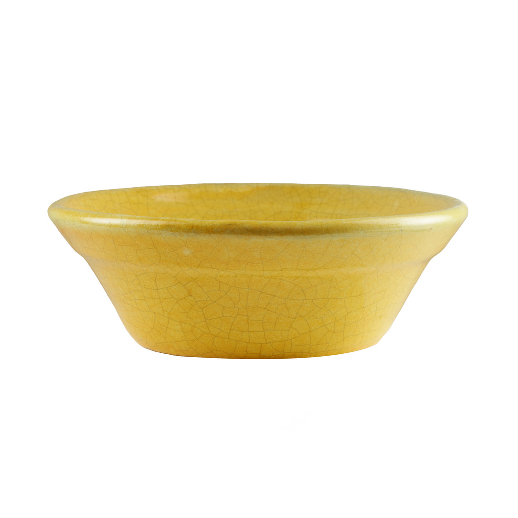 Lg Rubber Ducky Yellow Bowl With Cracking Design