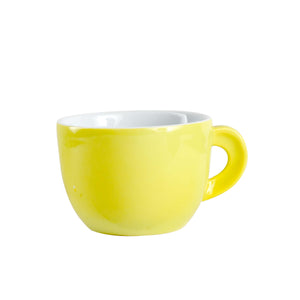 Bright Yellow Tea Cup