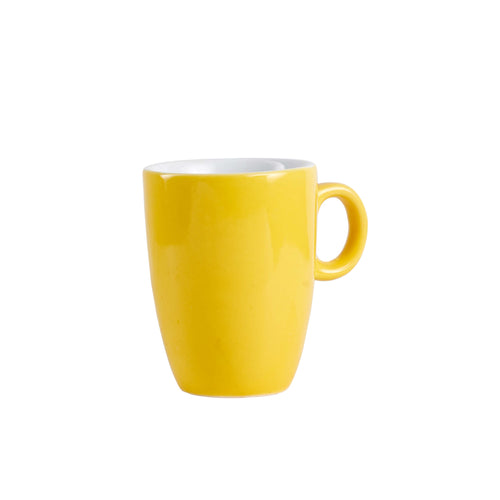 Sm Yellow Espresso Mug With Handle