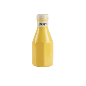 Sm Yellow Mustard Salt And Pepper Shaker