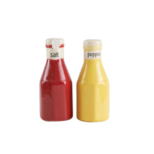 Sm Red Ketchup Salt And Pepper Shaker