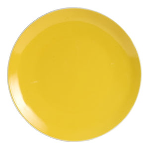 Lg Bright Yellow Plate