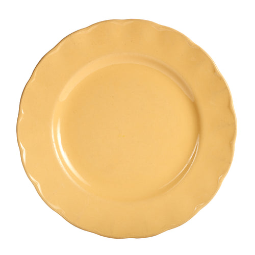 Lg Honey Yellow Plate